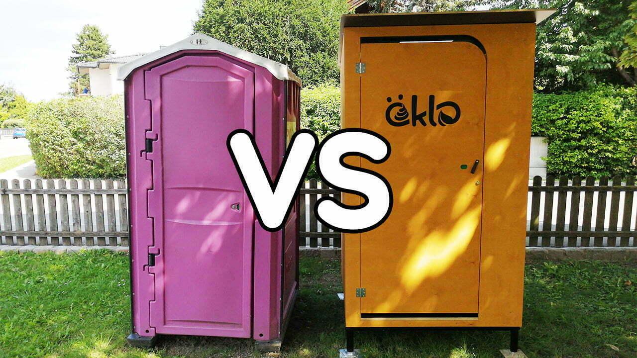 Das Match: öKlo-Trockentoilette vs. Kunststoff-Chemie-Klosett